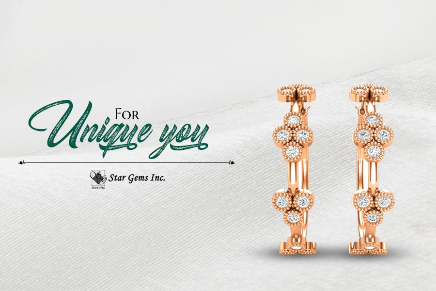 Buy Rose Gold Earrings In Tallahassee, FL